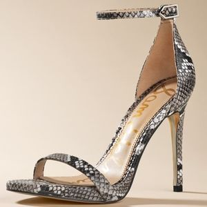 Sam Edelman  ariella Snake heels new in box